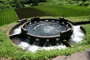 Circular-water-sharing Momoki-Takeda-City